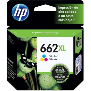 Cartucho de Tinta 662XL CZ106AB - Tricolor 8ml - HP