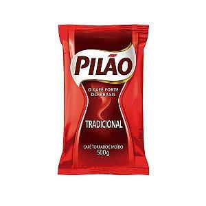Café Tradicional 500g - Almofada - Embalagem c/ 10 Unidades - Pilão