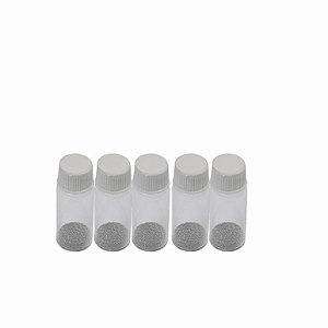Kit De Esferas Bga Reballing 5 Potes Com 25 Mil
