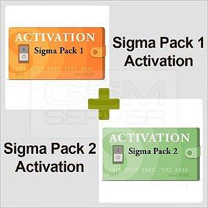 Ativação Sigma Pack 1 + Sigma Pack 2
