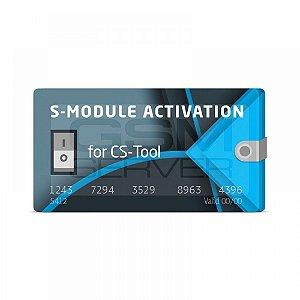 Ativação do módulo S para CS-Tool