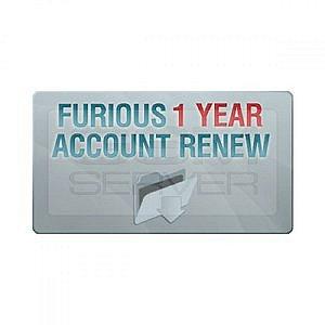 Ativação Furious 1 Ano Renovar conta