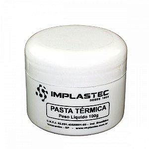 Pasta Termica Branca Implastec Pote 100gr