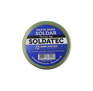 Pasta para Soldar Implastec Soldatec 50gr