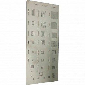 "Stencil Para Reballing E Bga Para Ipad'S 10"" P3041"