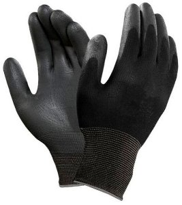 Luva Antiestatica Esd Tamanho G Black Carbon