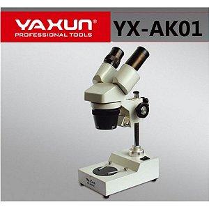 Microscopio Yaxun YX Ak01 40X 110v