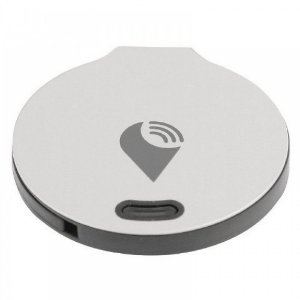 Mini Rastreador Trackr Bravo Prata