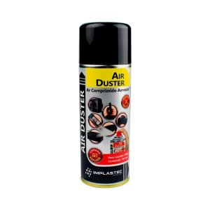 Spray Ar Comprimido Lata Duster Implastec Air Duster 200gr 164ml