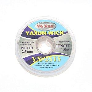 Malha Dessoldadora Yaxun  2515 2.5mm 150cm