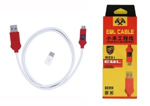 Cabo Edl 2 x 1 Micro Usb Tipo C Oss Team W231