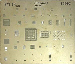 Stencil para Reballing E Bga Iphone iPhone 7 Plus P3062