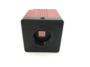 Camera Hdmi e Vga Para Microscópio Trinocular C mount