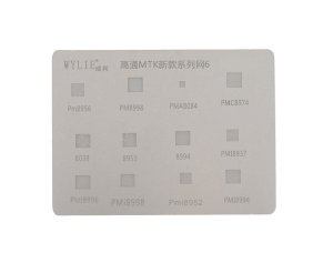 Stencil Wylie Para Reballing E Bga Linha MTK G1135