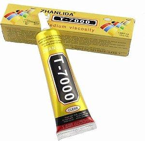 Cola Profissional T7000 50ml Preta