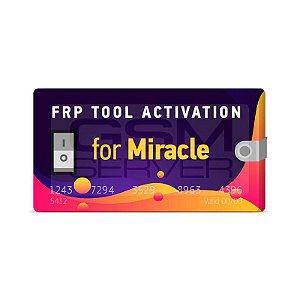 Ativação FRP Tool Miracle 1 Ano