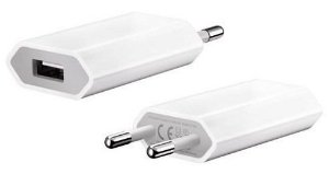 Fonte carregador de Iphone, ipad e ipod Bivolt 5w sem cabo