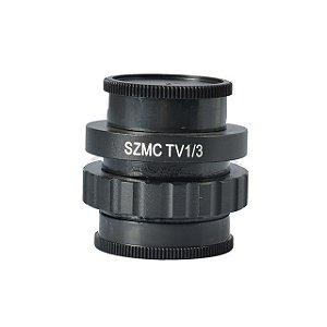 Adaptador Lente Camera Microscopio SZMCTV 1/3