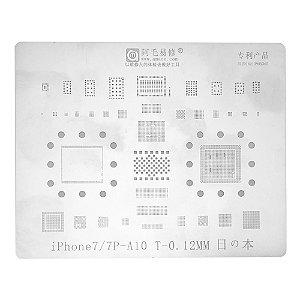 Stencil A10 iPhone 7 7 Plus Amaoe