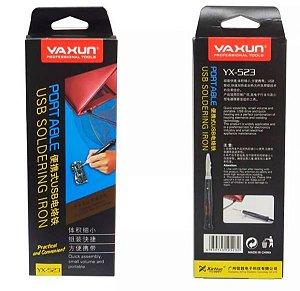 Ferro de Solda Portatil USB Yaxun yx523