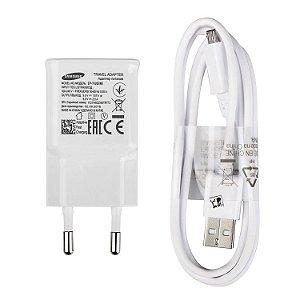 Carregador Samsung EP-TA20EWE BRANCO micro usb v8