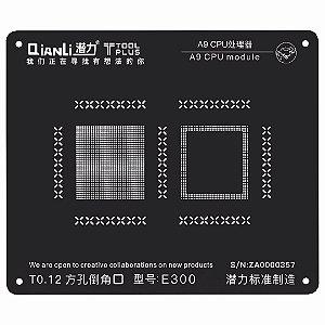 Stencil 3D Black CPU A9 6S Qianli