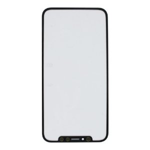 Vidro Frontal iPhone X Preto