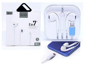 Fone ouvido Hmaston iphone lightning ear 7 plus