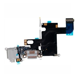 Flex conector de Carga iPhone 6S Cinza