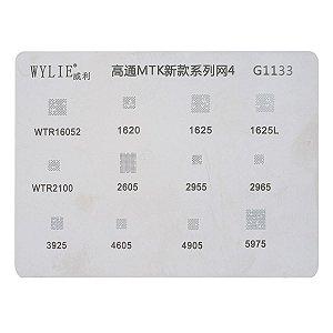 Stencil Wylie Para Reballing Bga Mtk g1133