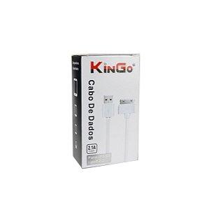 Cabo dados Kingo iphone 4 branco