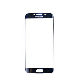 Vidro Frontal Samsung S6 Edge + Original Preto