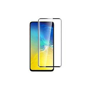 Pelicula Protetora Vidro Anti Choque 5D Samsung S10 Preta