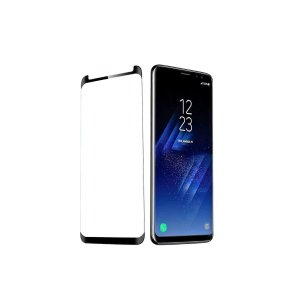 Pelicula Protetora Vidro Anti Choque 5D Samsung S9 Plus Preta
