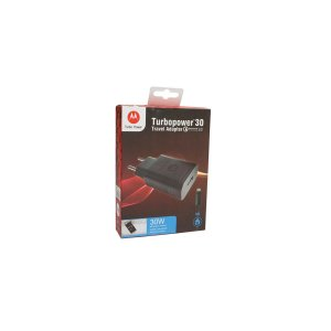 Carregador Turbo Motorola Turbo 30w micro usb Preto