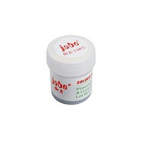 Pasta de Solda de Baixo Fusão Jabe JB6530 138 ºc 50 gramas