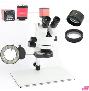 Microscopio Trinocular 37045A Completo