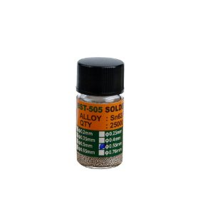 Esferas Bga Reballing BST505 0.55mm Pote Com 25Mil
