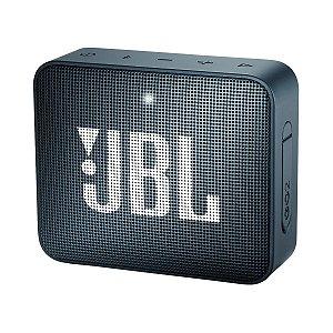 Caixa de Som Bluetooth JBL GO 2 Original Azul Marinho