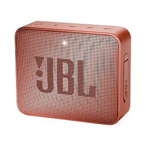 Caixa de Som Bluetooth JBL GO 2 Original Cobre