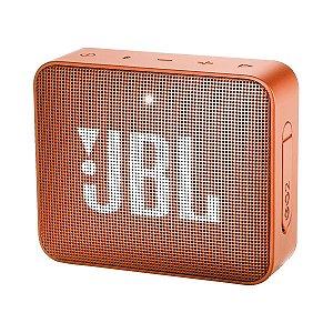 Caixa de Som Bluetooth JBL GO 2 Original Laranja
