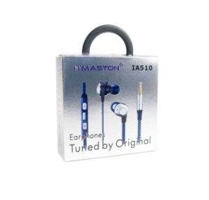 Fone ouvido Hmaston Intra Auricular IA510 Azul