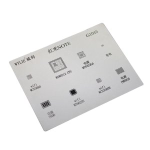 Stencil Reballing BGA Wylie G1045 para Xiaomi Note