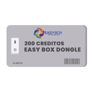 200 Creditos Servidor Easy Box Dongle