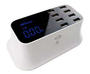 Carregador USB Com Medidor De Corrente E Tensão A9 YC CDA19
