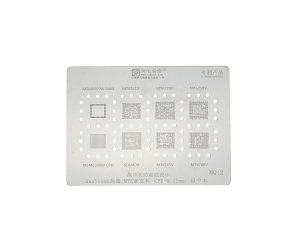 Stencil Qualcomm MTK CPU 0.12mm Amaoe MQ2