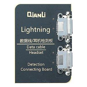 Placa de teste Cabo Lightning iCopy Qianli 1ª Geração