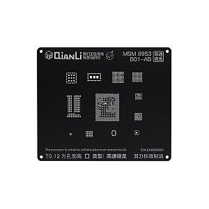 Stencil 3D iBlack Qianli MSM 8953 B01-1AB
