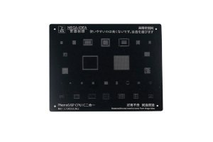 Stencil Mega idea Black iPhone 6g 6g Plus