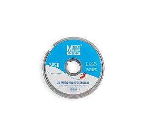 Fio De Aço Separar LCD 0.035mm 37.5 HB MaAnt 100mts